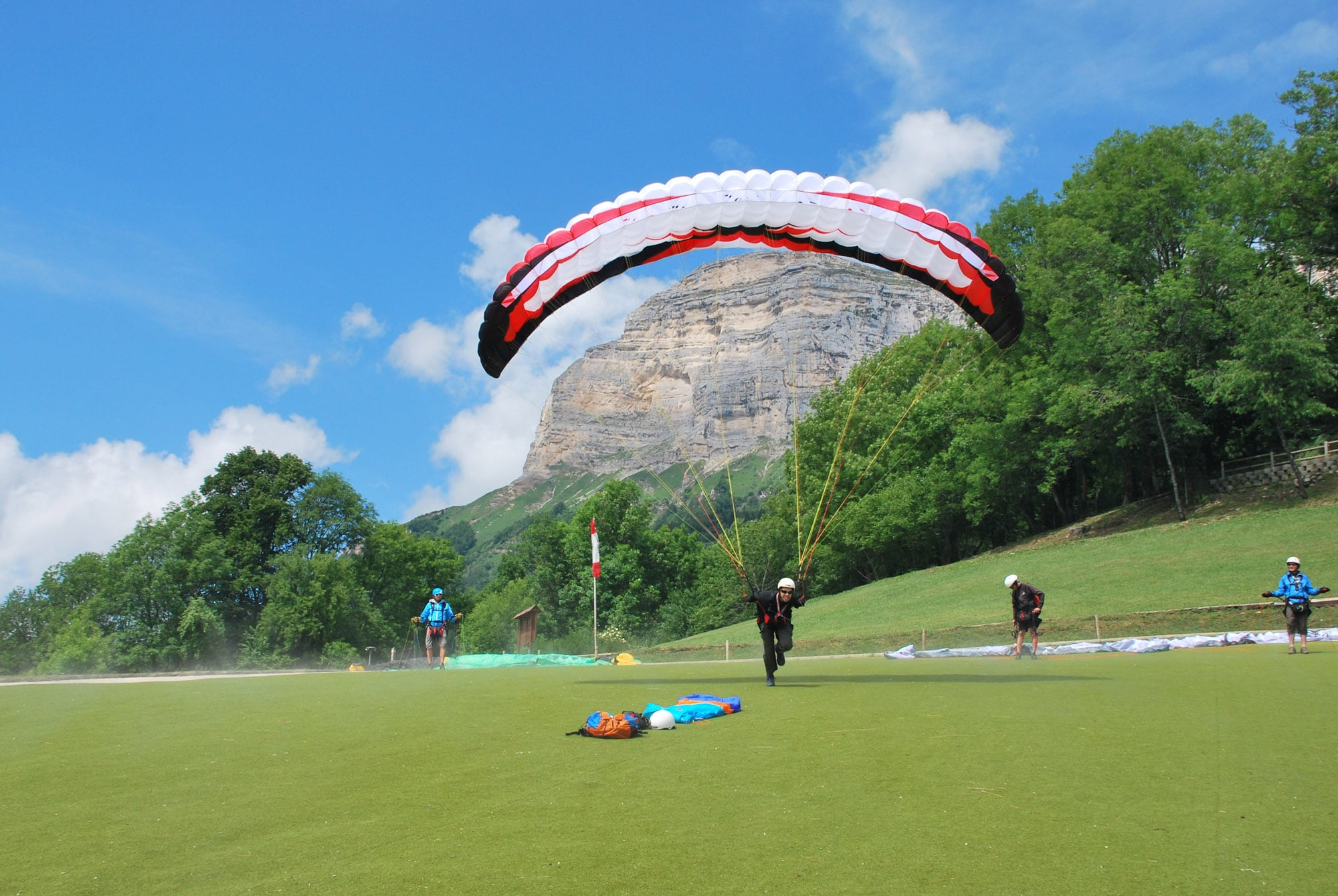Mini voile et stage parapente Air Alpin