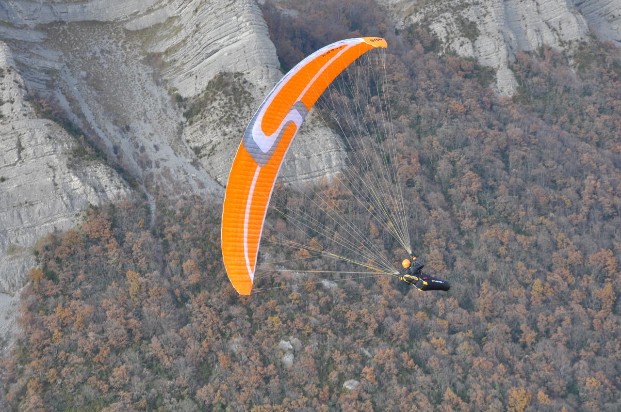 Vol en stage parapente Air Alpin