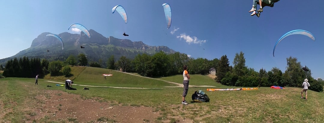 Stages parapente 2016